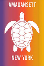 Load image into Gallery viewer, Rainbow Turtle Destination Fridge Magnet