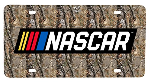Nascar RealTree Metal License Plate Frame