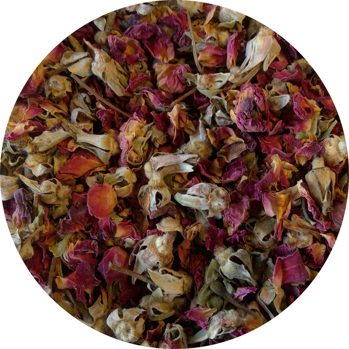 Rose Buds and Petals, Organic