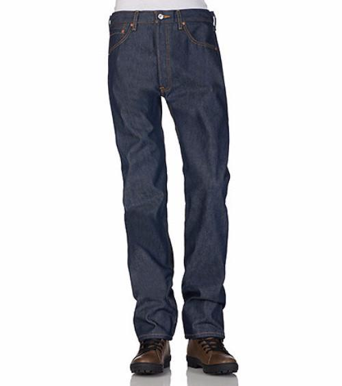 Levi's 501 Rigid Blue Jeans