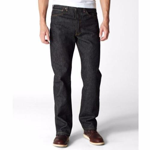 Levis 501 Black Rigid Jeans