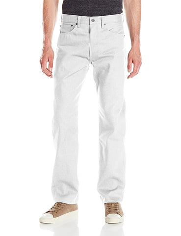 Levi's 501 White Shrink-To-Fit Jeans