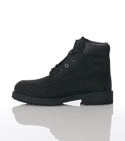 Timberland 6 In. Premium Boot Black (GS)
