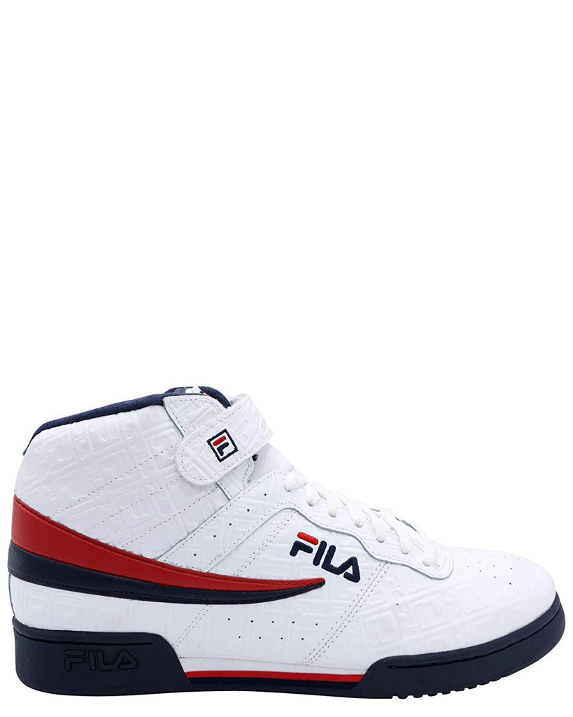 Fila F-13 Embossed Small F-Box White/Navy-Red