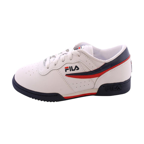 Fila Original Fitness White/Navy/Red (GS)