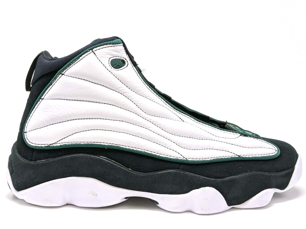 Jordan Pro Strong Black/Dark Pine-White-Black (GS)