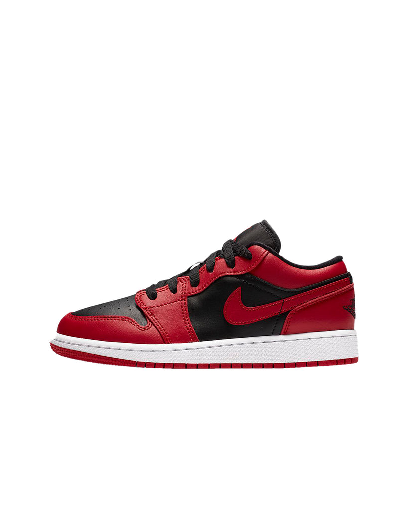 Jordan 1 Low Reverse Bred Gym Red/Black-White (GS)