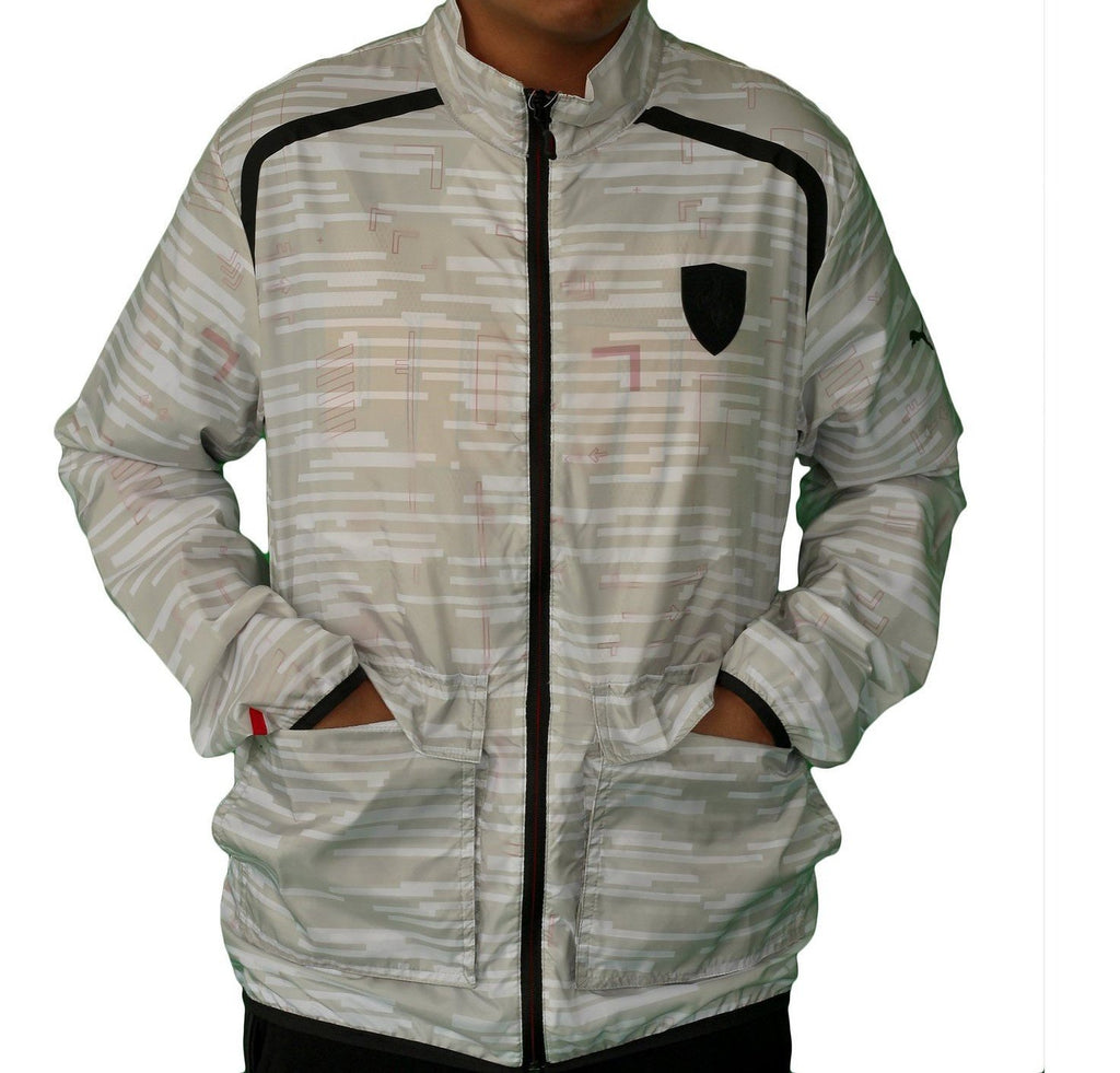 PUMA SF White/Gray Light Weight Jacket