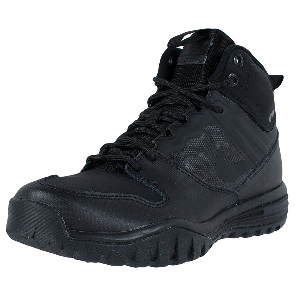 Nike Dual Fusion Hills Mid Black/Black-Black-Anthracite (GS)
