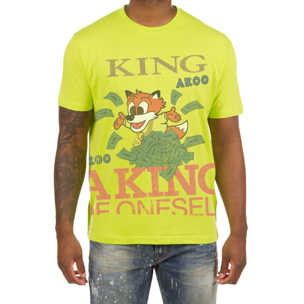 Akoo Acid Lime King Money T-Shirt