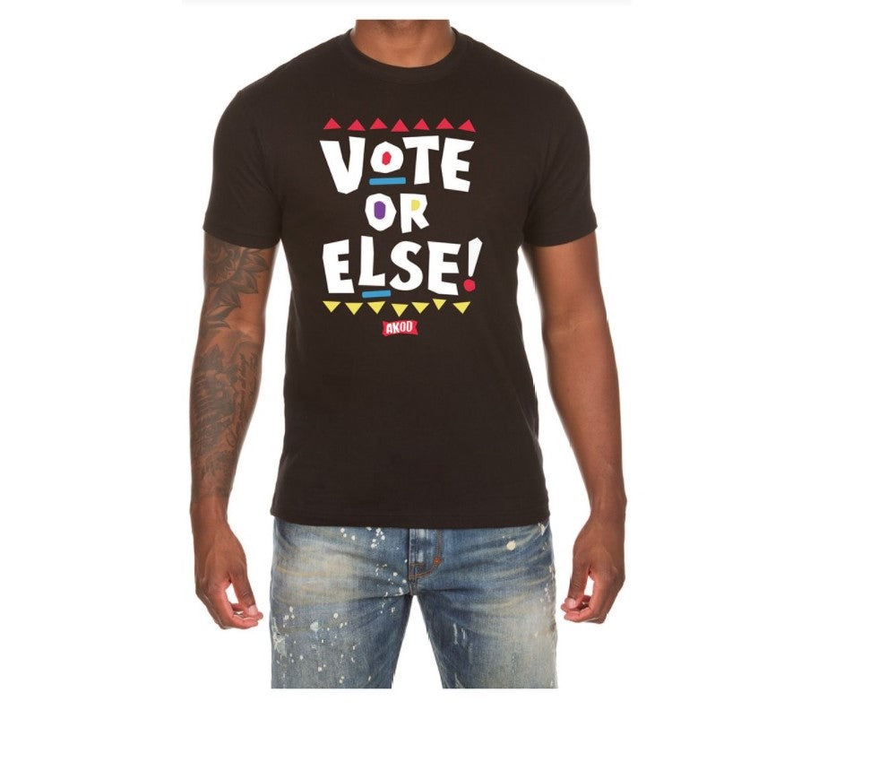 Akoo Black Voter T-Shirt