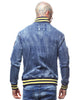 Rebel Minds Dark Blue Multi Patched Denim Jacket