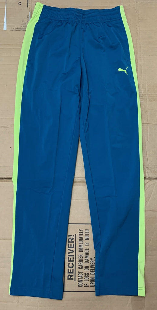 Puma Contrast Pants Digital Blue/Sharp Green