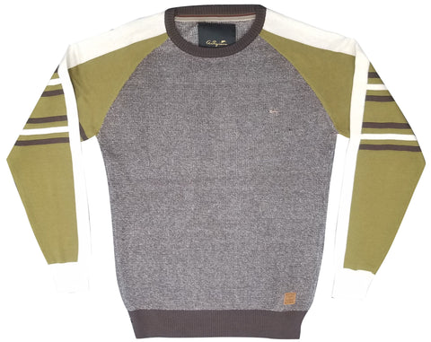 A. Tiziano Bark Lawrence Knit Sweater