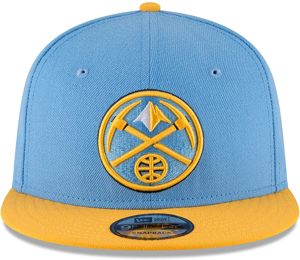 New Era 9Fifty NBA Denver Nuggets 2 Tone Snapback Hat