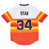 Mitchell & Ness White MLB Houston Astros 1980  Nolan Ryan Home Authentic Jersey