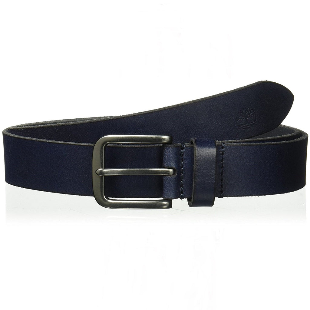 Timberland Navy Classic Leather Jean Belt