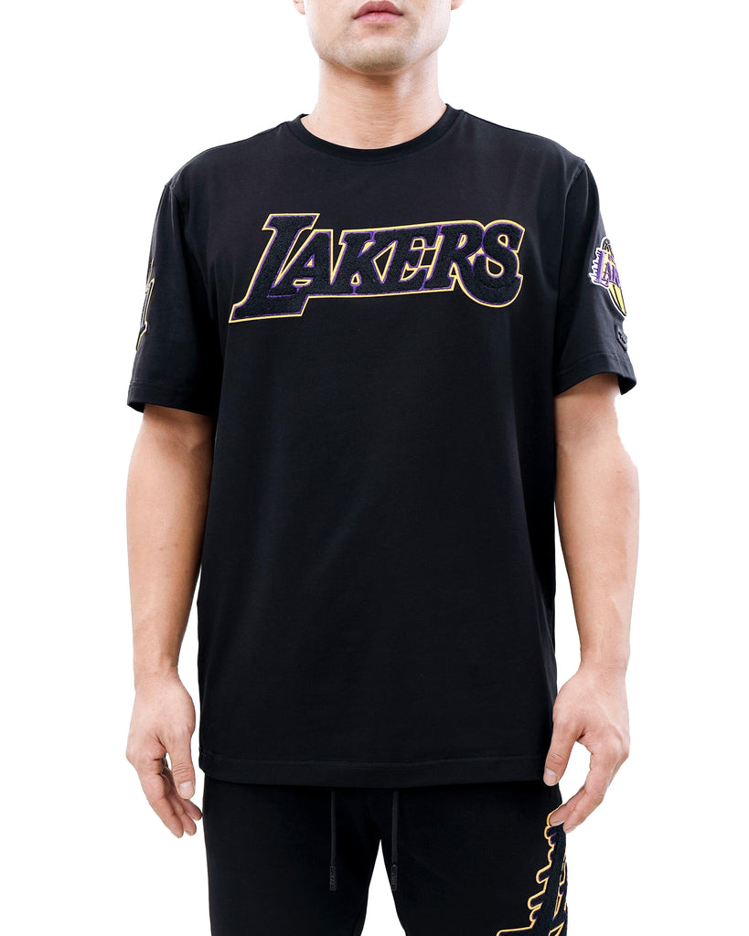 Pro Standard Los Angeles Lakers Pro Team Black T-Shirt