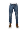 Black Pike Medium Indigo Heavy Washing Jeans