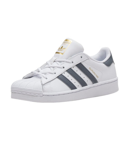 Adidas Superstar C White/Onix/Gold (PS)