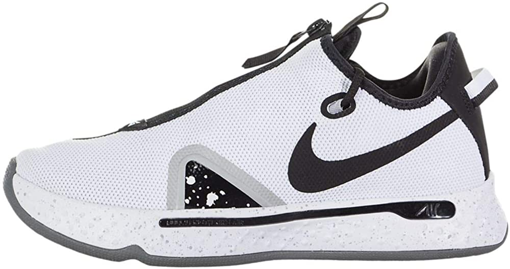 Nike PG 4 White/Black-Pure Platinum