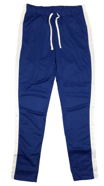 Contender Royal/White Side Stripe Track Pants