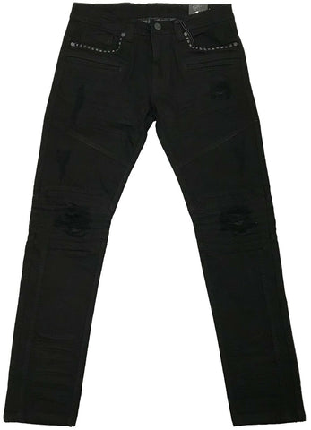 Elite Denim Black Diamond II Biker Jeans