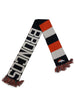 47 Brand Navy/White/Orange Denver Broncos Baker Scarf