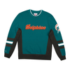 Mitchell & Ness Dark Teal NFL Miami Dolphins Home Town Champs Crewneck
