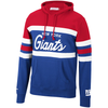 Mitchell & Ness Red/Royal NFL New York Giants Head Coach Hoodie