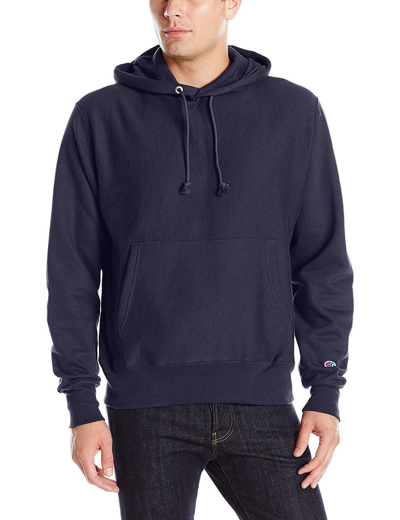 Champion Navy Reverse Weave Pull Over Hoodie