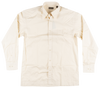 Knockout Jeans Natural Solid L/S Button Down Woven Shirt