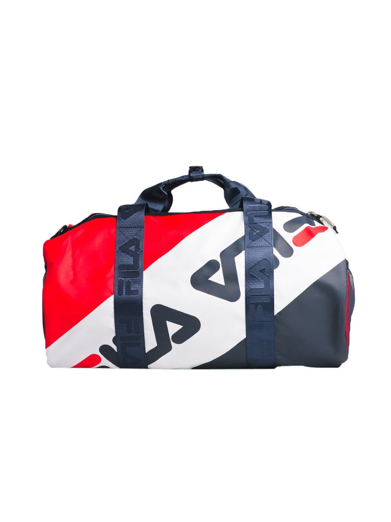 Fila Peacoat/Chinese Red-White Bexley Barrell Bag