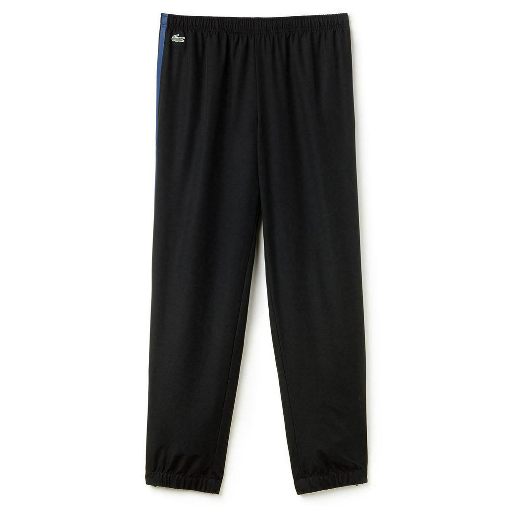 Lacoste Black Colored Bands Tennis Track Pants