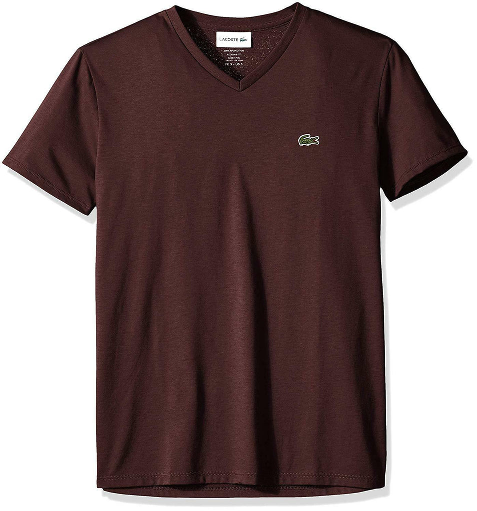 Lacoste Vertigo Short Sleeve Pima Cotton V-Neck Jersey T-Shirt