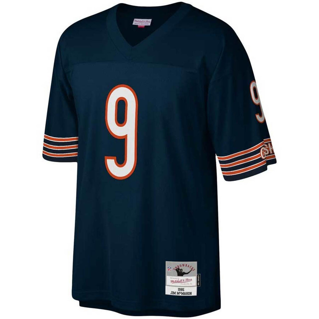 Mitchell & Ness Navy NFL Chicago Bears Jim McMahon #9 1985 Legacy Jersey