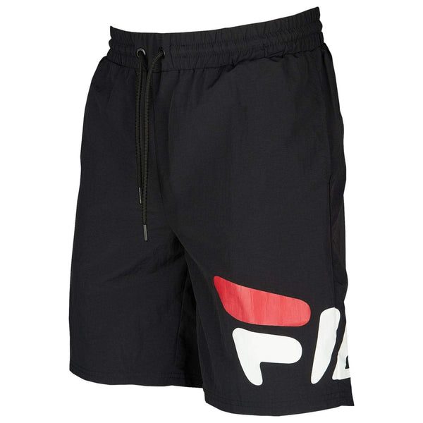 Fila Black Toby Logo Shorts