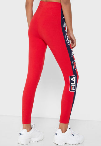 Fila Tamu Leggings Chinese Red/Peacoat/White