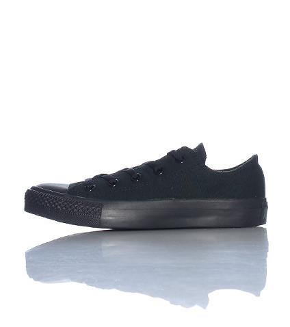 Converse All-Star Lo Top Black Mono Chrome (GS)