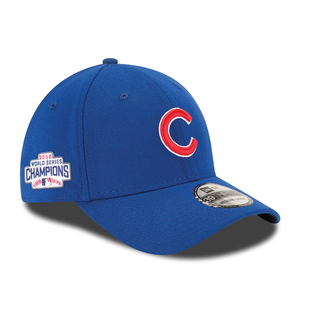 New Era 39Thirty Chicago Cubs Classic World Series Champions Baseball Cap Team Colors
