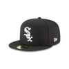 New Era Chicago White Sox Black/White/Grey Undervisor 59FIFTY Fitted (11591167)