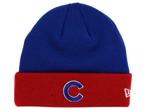 New Era Chicago Cubs MLB Basic Cuff Knit Team Beanie Hat