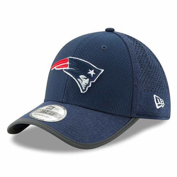 New Era 39Thirty New England Patriots 2017 NFL On Field Training Hat Team Colors