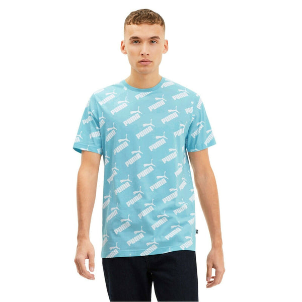 Puma Amplified AOP Tee Aquamarine