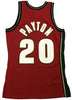 Mitchell & Ness Red NBA Seattle SuperSonics CNY '95 Payton Swingman Jersey