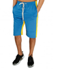 Imperious Blue/Yellow Contrast Track Shorts