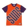 Mitchell & Ness Purple NBA Phoenix Suns Big Face T-Shirt