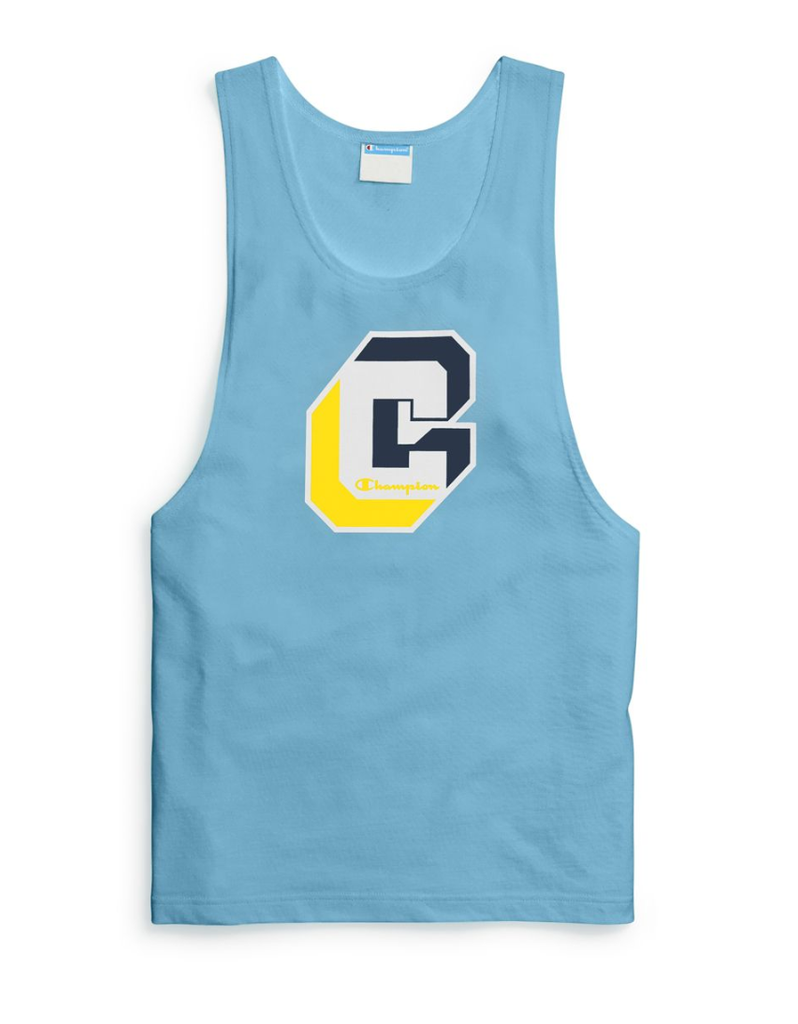 Champion Active Blue Muscle Tank T-Shirt