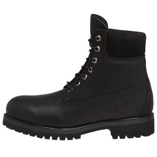 Timberland 6 In. Premium Leather Boot Black