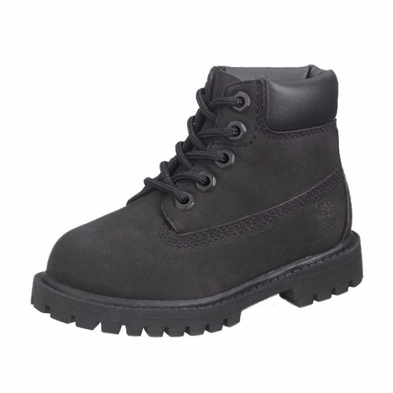 Timberland 6 In. Premium Boot Black (PS)